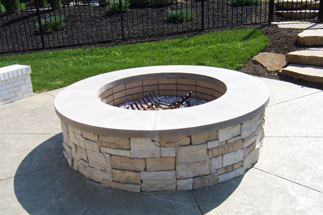 Outdoor Fireplace Fire Pit - Outdoor Firepits, Fireplaces And Grill Stations By Brandon