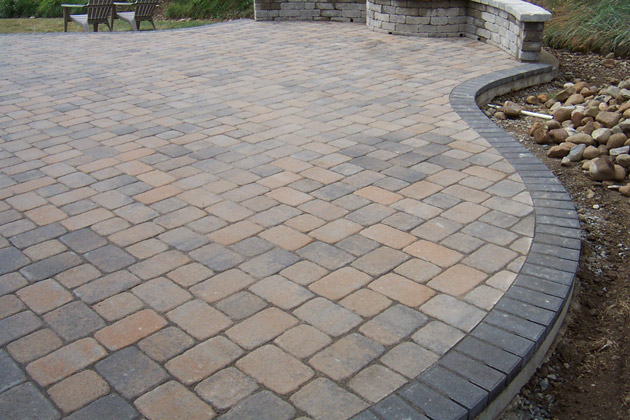 Brussels Block Paver Patio Stone