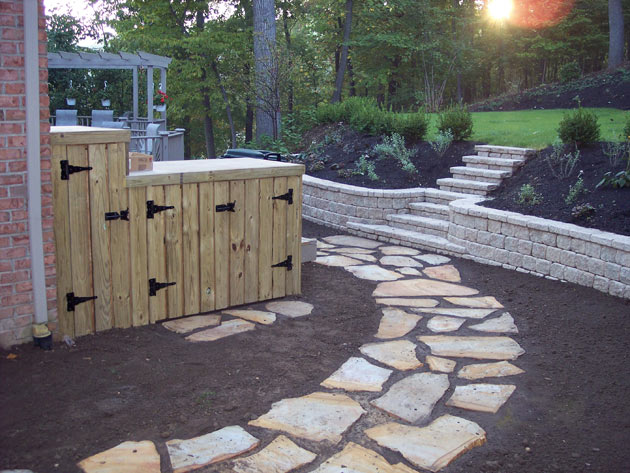 flagstone landscaping. Flagstone Path Photo Landscaping S