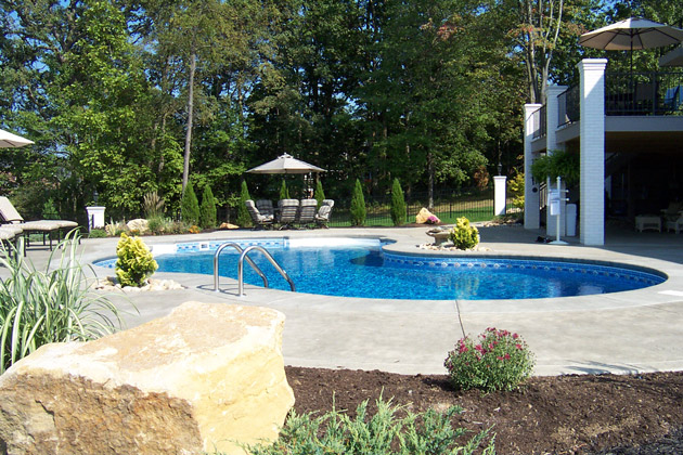 Swimming pools spas by brandon landscape pittsburgh 39 s for Pool design mcmurray