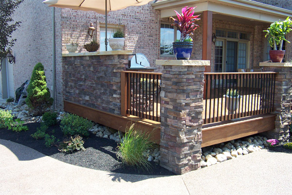Retaining Walls Amp Pillars By Brandon Landscape