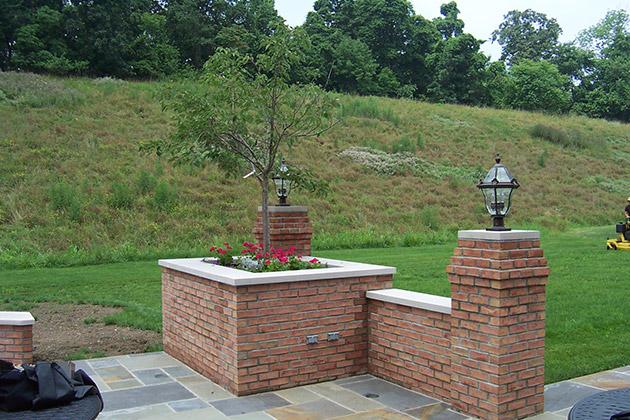 Retaining Walls Amp Pillars By Brandon Landscape
